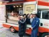 """김선경-김병철, """"따뜻한 커피 드시고 힘내세요"""" 영화 '이웃사촌' 응원"""