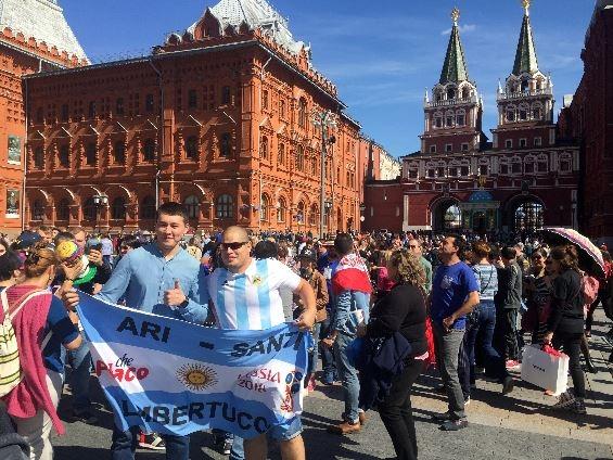 러시아, '월드컵 시간' 진입...방문객 맞이 '분주'