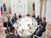 [월드컵] 푸틴 러시아 대통령, 월드 축구스타 회견