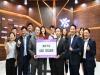 호치민시한국국제학교, '신한은행 미래 정보센터'기부 행사 개최