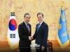 문 대통령, 왕이 중국 국무위원 겸 외교부장 면담