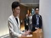"""캐리 람 """"홍콩, 법대로 중앙정부의 외교업무 요구를 이행할 것"""""""