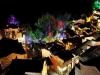 산벼랑에 있는 '고대마을' 밤 풍경