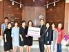 호치민 한인여성회 호치민시한국국제학교 발전기금 기탁