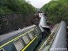 中 후난성 경내 열차 탈선 전복 사고 발생.. 1명 사망 127명 부상